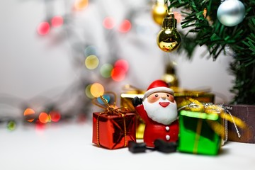 Christmas tree decoration for celebration Chrismas Eve