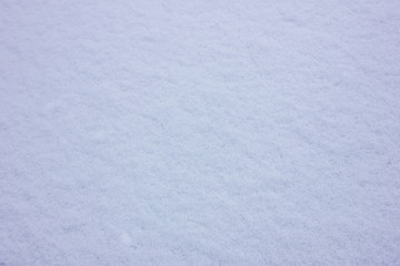 Fresh pure white snow texture background