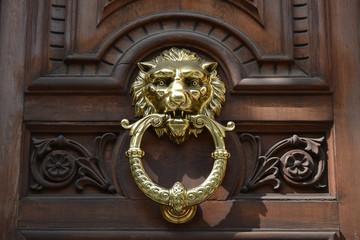 Poignée tête de lion