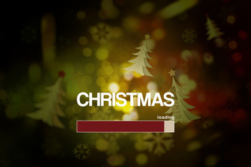 Loading of Christmas .Countdown to Christmas,Background