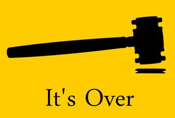 Its Over. Divorce