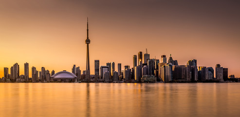 Fotomurales - Toronto panorama at sunset