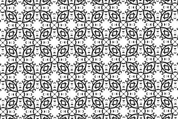 Чёрно-белые узоры. Фантазии. 2.1