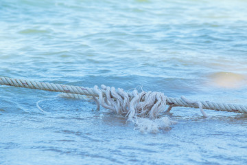White Robe of Anchor on the beach.