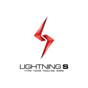 Lightning S logo icon