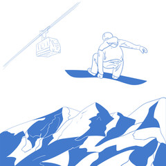 Snowboarding, Snowboard, Ski, Backgrounds, Snow