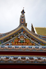 asia  thailand   bangkok   temple abstract      mosaic
