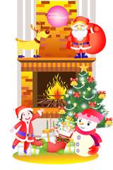 크리스마스 일러스트 시리즈