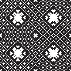 embroidery ethnic geometric seamless patterns