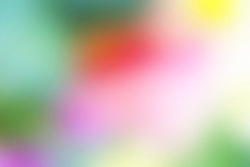 Colored Blurred Background