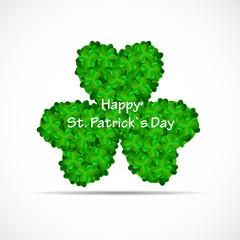Saint Patrick Day Background Vector Illustration