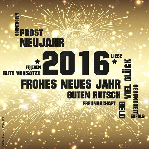 2016 Frohes Neues Jahr\