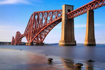 Foto auf AluDibond Bridges Forth Rail Bridge