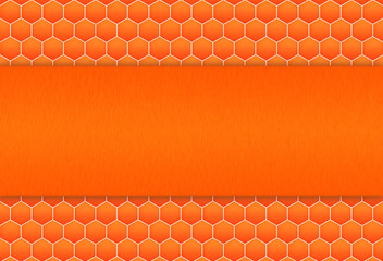 honeycomb pattern background for web design.