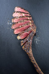 Dry Aged Babecue Tomahawk Steak