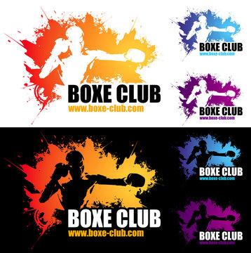 logo boxe club