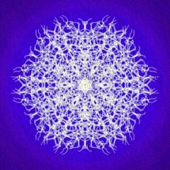 Kaleidoskop Schneeflocke