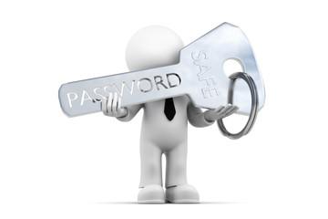 Figur mit Passwort