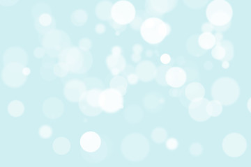 Abstract illustration bokeh light on blue background