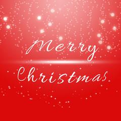 Christmas Greeting Card. Merry Christmas