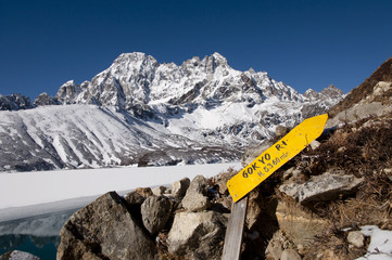 Sticker - Gokyo Ri Ascent - Nepal