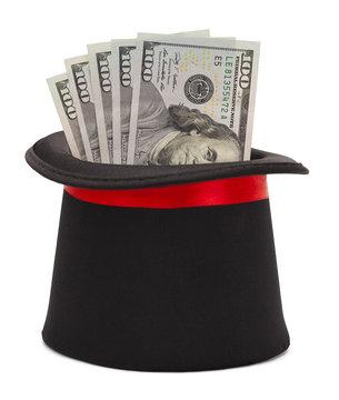 Black Top Hat and Cash Money