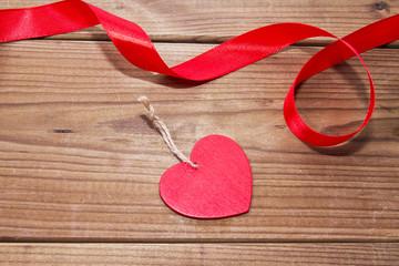 hearts on wood