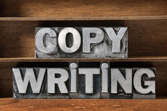 copy writing tray