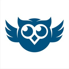 OWL FUNNY BLUE