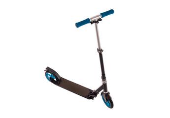Black push scooter