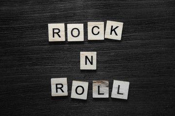 Rock and roll concept