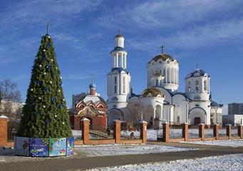 Москва. Храм св. Сергия. Рождество.