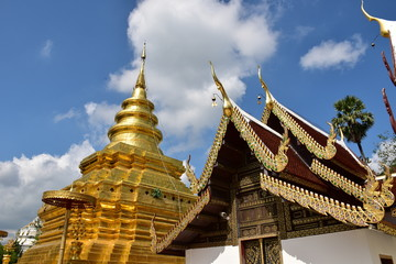 Wat Pra That Sri Chom Thong