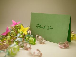 Massage Card; Thank You
