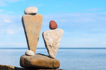 Stone symbolic figurines