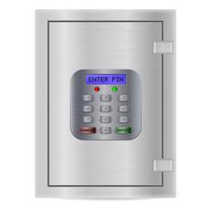 Safe. Pin code keypad for security safe. ENTER PIN.