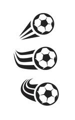vector black Soccer