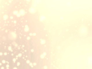 Abstract glittering stars on bokeh background.   Festive gold co