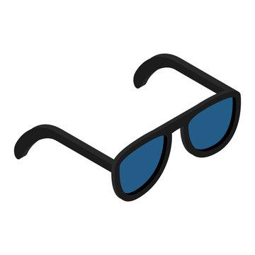 Sunglasses isometric 3d icon