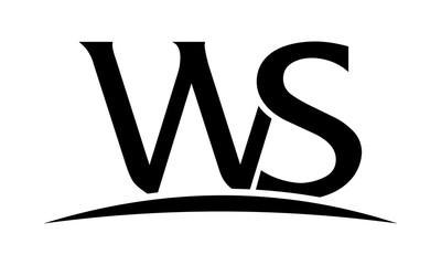 Letter WS logo