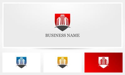 Building Shield Logo
