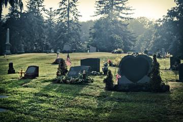Graveyard Early Morning