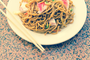 Chinese Lobster Lo Mein