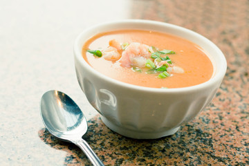 Shrimp Bisque Soup