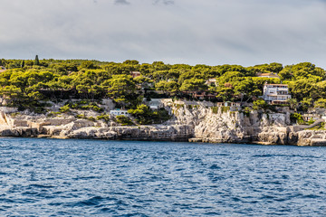 Coastline Between Calanques And Cassis - France