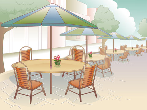 Al Fresco Dining Scene
