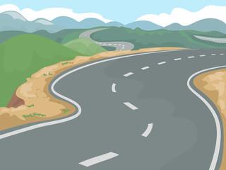 Hill Side Highway