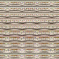 Vector seamless texture. Ethnic tribal striped pattern. Aztec ornamental style
