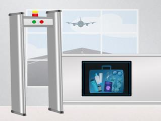 airport baggage scanner