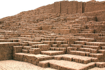 The Huaca Pucllana in Lima, Peru